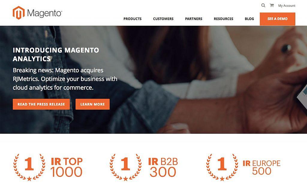 magento page - هاست پربازدید ( منابع بسیار قوی )