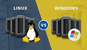 linux vs. windows 300x173 - هاست لینوکس چیست؟ تفاوت آن با هاست ویندوزی